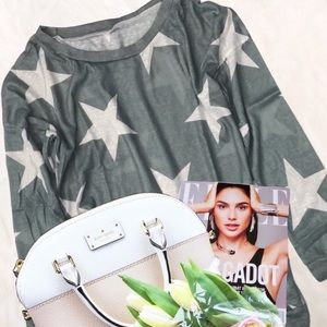 Sweaters - Written In The Stars  Off Shoulder Top Sage